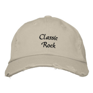 Classic Rock Embroidered Baseball Cap