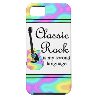 Classic Rock Is My Second Language iPhone 5 Cover