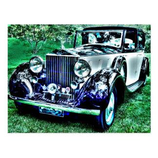 Classic Roll Royce Postcard