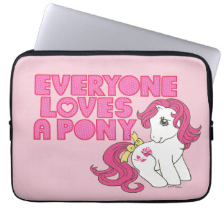 Classic Roseluck | Everyone Loves A Pony Laptop Sleeve