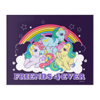 Classic Roseluck | Friends 4-Ever Acrylic Wall Art