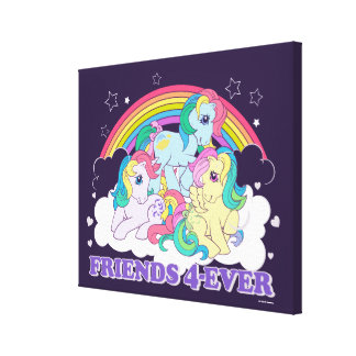 Classic Roseluck | Friends 4-Ever Canvas Print