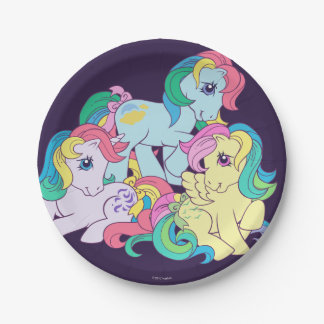Classic Roseluck | Friends 4-Ever Paper Plate