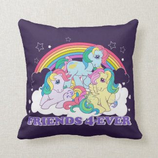 Classic Roseluck | Friends 4-Ever Throw Pillow