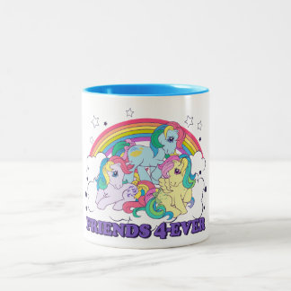Classic Roseluck | Friends 4-Ever Two-Tone Coffee Mug