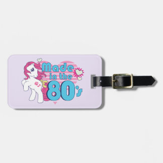 Classic | Roseluck | Made In The 80's Luggage Tag