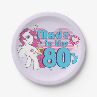 Classic | Roseluck | Made In The 80's Paper Plate