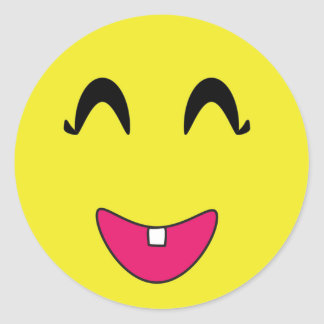 Classic Round Sticker/Emoticons Classic Round Sticker