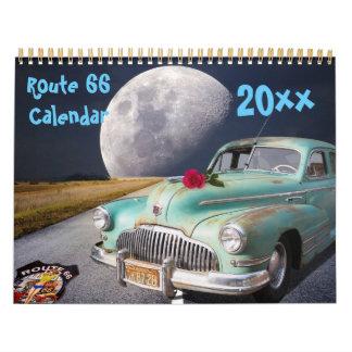 Classic route 66 2018 calendar