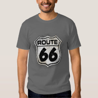 Classic Route 66 Tee Shirt