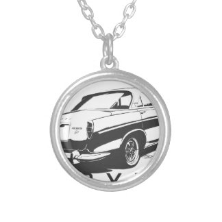 Classic Rover P5 Silver Plated Necklace