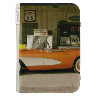 Classic RT 66 Gas Station Kindle 3G Covers