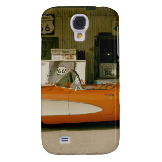 Classic RT 66 Gas Station Galaxy S4 Cover