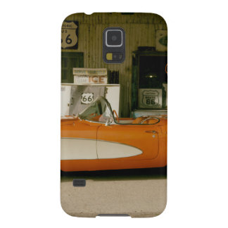 Classic RT 66 Gas Station Galaxy S5 Cover