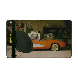 Classic RT 66 Gas Station iPad Case