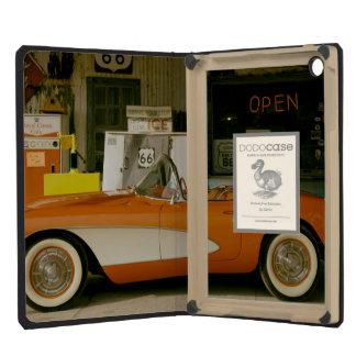 Classic RT 66 Gas Station iPad Mini Retina Covers