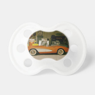 Classic RT 66 Gas Station Pacifier