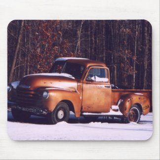 Classic Rust Mouse Pad