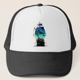 Classic Sailing Ship Trucker Hat