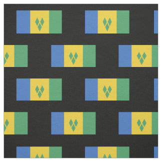 Classic Saint Vincent Flag Fabric