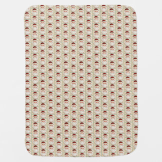 Classic Santa Claus Face Baby Blanket