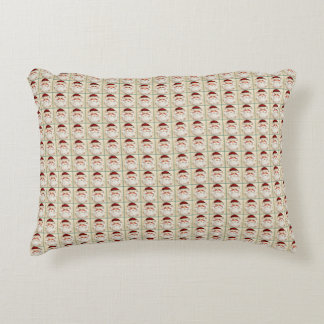 Classic Santa Claus Face Decorative Pillow