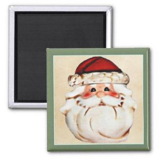Classic Santa Claus Face Magnet