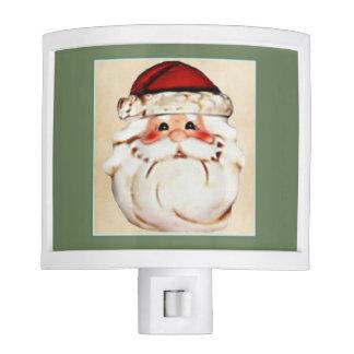 Classic Santa Claus Face Night Light