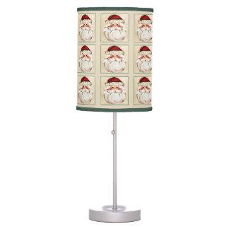 Classic Santa Claus Face Table Lamp