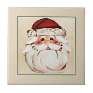 Classic Santa Claus Face Tile