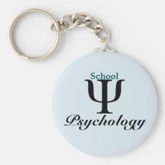 Classic School Psychology Key Chain