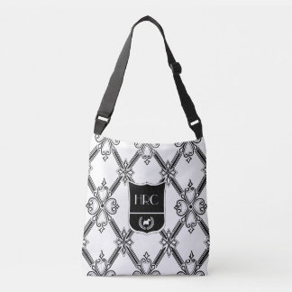 Classic Scottie Monogram Personalize Crossbody Bag