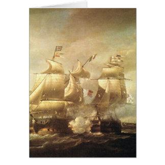 Classic Sea Battle 1 Greeting Card