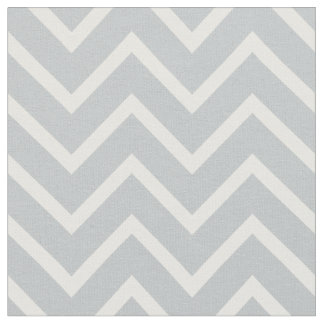 Classic simple gray and white Chevron Fabric