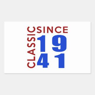 Classic Since 1941 Birthday Designs