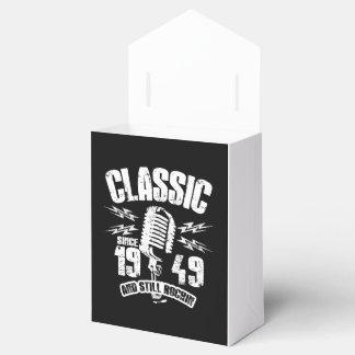 Classic Since 1949 And Still Rockin Favor Box