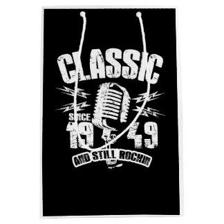 Classic Since 1949 And Still Rockin Medium Gift Bag