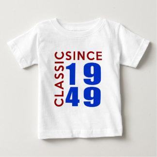 Classic Since 1949 Birthday Designs Baby T-Shirt