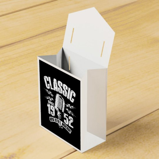 Classic Since 1952 And Still Rockin Favor Box