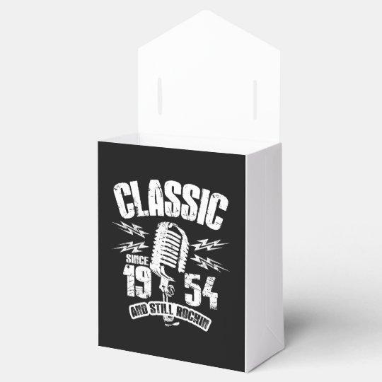 Classic Since 1954 And Still Rockin Favor Box