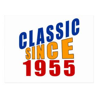 Classic Since 1955 Postcard