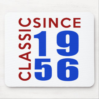 Classic Since 1956 Birthday Designs Mouse Pad