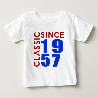 Classic Since 1957 Birthday Designs Baby T-Shirt
