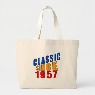 Classic Since 1957 Large Tote Bag