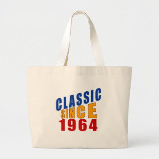 Classic Since 1964 Large Tote Bag