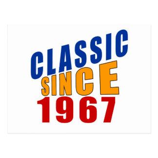 Classic Since 1967 Postcard