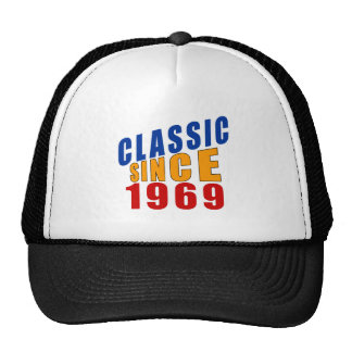 Classic Since 1969 Trucker Hat