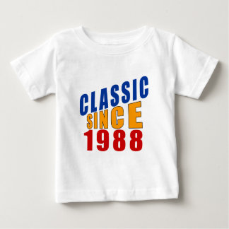 Classic Since 1988 Baby T-Shirt