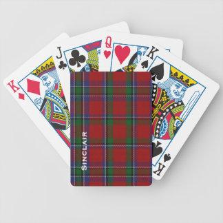 Classic Sinclair Family Tartan Plaid Playing Cards