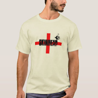 CLASSIC SKINHEAD T SHIRT WITH SKIN MAN LOGO